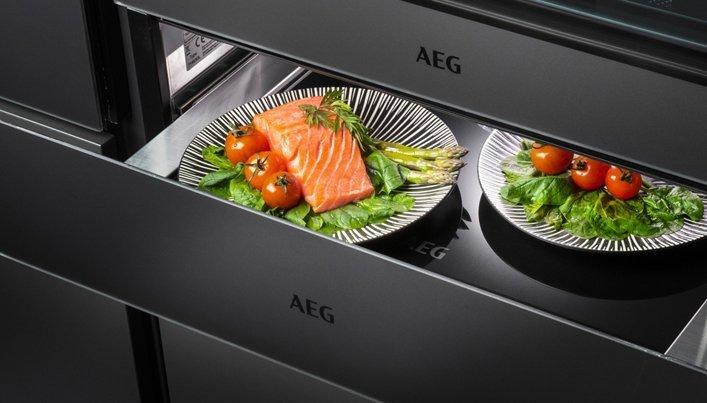 AEG warmhoudlade | Satink Keukens