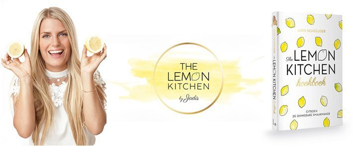 Eigenhuis Keukens The Lemon Kitchen kookboek cadeau | Satink Keukens