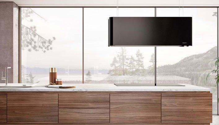 Novy designlamp afzuigkap | Satink Keukens