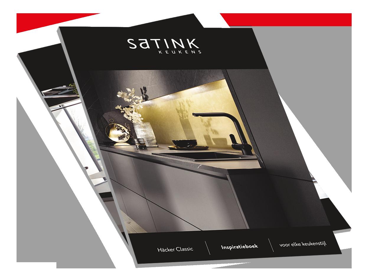 Satink Keukens inspiratieboek aanvragen