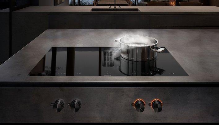 Kookplaat met geïntegreerde afzuiging | Gaggenau | Satink Keukens