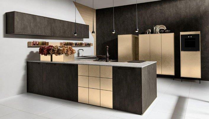 Laat Je Inspireren Door De Zwarte Keuken Met Goud Satink Keukens
