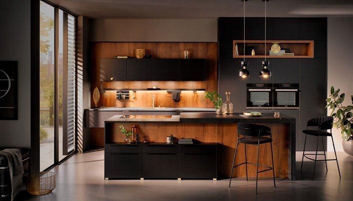 Woonkeuken: kookeiland met bar | Satink Keukens